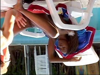 Sweet young ebony start vaginal